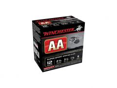"Winchester AA 12 Ga 2-3/4"" 1-1/8 Oz No.8 Shot Super Sport (Case)"