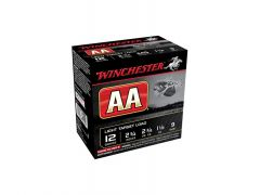 "Winchester AA 12 Ga 2-3/4"" 1-1/8 Oz No.9 Shot Light Target Load (Case)"