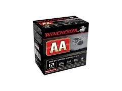 "Winchester AA 12 Ga 2-3/4"" 1-1/8 Oz No.9 Shot Super Sport (Case)"