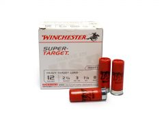 "Winchester Super Target 12 Ga 2-3/4"" 1-1/8 Oz No.8 Shot (Case)"