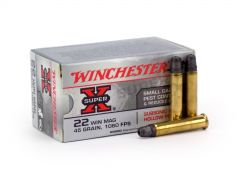 Winchester .22 WMR 45 Grain Subsonic Lead HP