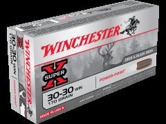Winchester Super-X .30-30 Win 170 Grain JSP Case X30303-CASE