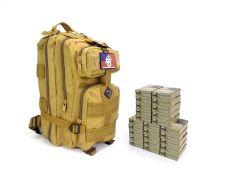 Federal 223/5.56 62 Gr BTFMJ 855 RTAC Tan Assault Pack Combo