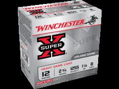 """XU12H8 Winchester Super-X 12 Gauge 2.75"""" 1-1/8oz 8-Shot"""