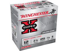 "XU12H8 Winchester Super-X 12 Gauge 2.75"" 1-1/8oz 8-Shot"
