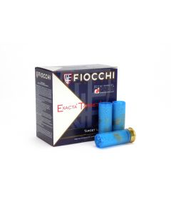 "Fiocchi Exacta Target Loads 12 Ga 2-3/4"" 1-1/8 Oz  No. 7 Steel Shot"