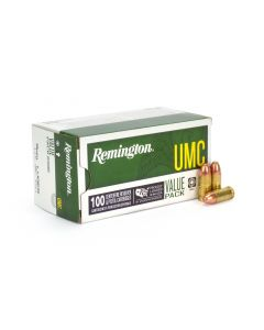 Remington UMC 9mm 115 Gr FMJ - 100 Round Value Pack Box