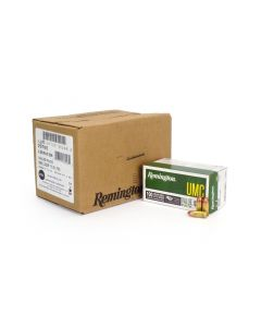 Remington UMC 9mm 115 Gr FMJ - 100 Round Value Pack (600 Rd Case)