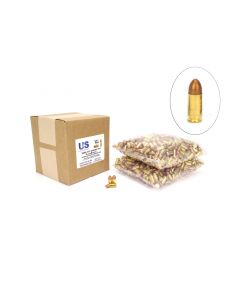 US Cartridge CleanBarrel™ 9mm 115 Gr Bronze TPJ - 1000 Round Bulk Case