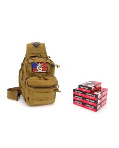 RTAC .380 ACP Tactical Sling Pack w/ Holster - American Eagle AE380AP