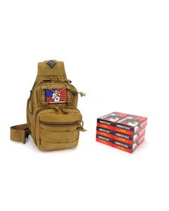 RTAC .40 S&W Tactical Sling Pack w/ Holster - American Eagle AE40R1