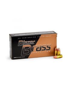 Blazer Brass 9mm 124 Grain FMJ