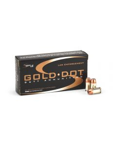 Speer Gold Dot .45 GAP 185 Grain HP Case 53977-CASE