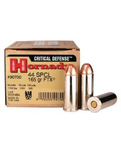 Hornady Critical Defense .44 Special 165 Gr FTX