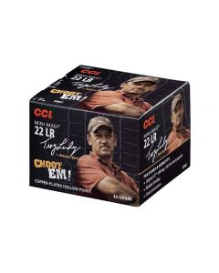 CCI Mini-Mag High Velocity 22 LR Troy Landry Special Edition 36 Grain Plated Lead HP (300 Rounds) Case 962-CASE
