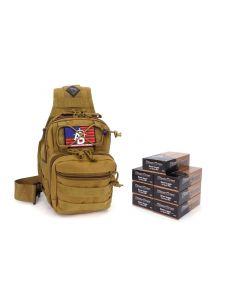 RTAC 9mm Tactical Sling Pack - Blazer Brass 5200