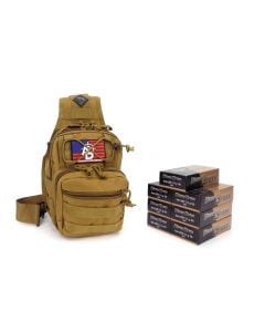 RTAC 9mm 124 Gr Tactical Sling Pack - Blazer Brass