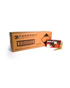 Federal American Eagle .223 Rem 55 Grain FMJ (500 Round Case)