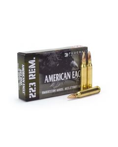 Federal American Eagle Military Grade .223 Rem 55 gr FMJ (Case)