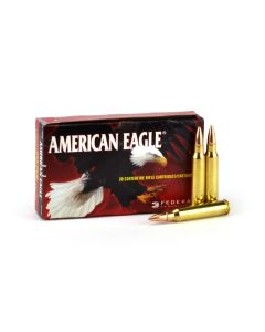 Federal American Eagle .223 Rem 62 Grain FMJ Boat Tail (Case)