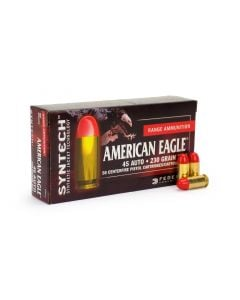Federal American Eagle Syntech .45 ACP 230 Grain TSJ