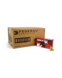 Federal American Eagle 9mm 124 Grain FMJ (Case)