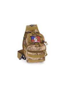 RTAC Tactical Sling Pack w/ AD Patch - Desert Python