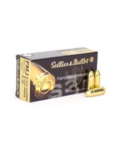 Sellier & Bellot 9mm 124 Gr FMJ Box