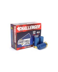 Challenger 12 Gauge Super Shortshell 1 3/4 in 14 Pellet Buckshot (Box)