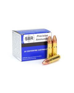 SBR .458 SOCOM 500 Grain High Velocity FMJ (Box)