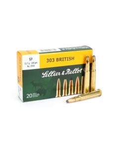 Sellier & Bellot .303 British 180 Gr SP Box