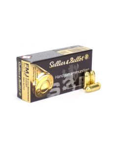 Sellier & Bellot .380 ACP 92 Grain FMJ