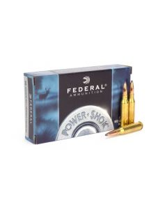 Federal Power-Shok 7mm-08 Rem 150 Gr Speer Hot-Cor SP Case