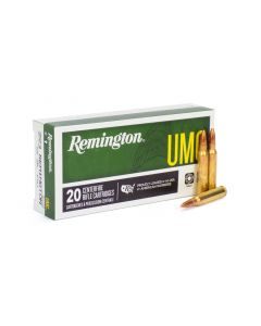 Remington .223 Rem 55 Gr FMJ (Box)