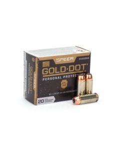 Speer Gold Dot 10mm 200 Gr JHP (Box)
