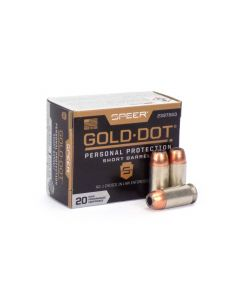 Speer Gold Dot Short-Barrel .45 ACP 230 Gr JHP (Box)