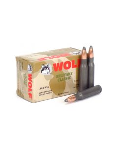 Wolf Military Classic .308 Win 140 Gr SP (Box)