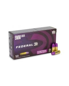 Federal Premium 9mm 124 Gr Syntech Training Match TSJ (Box)