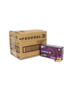 Federal Premium 9mm 124 Gr Syntech Training Match TSJ (Case)