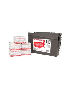 Winchester 9mm 115 Gr FMJ - 500 RDS in Ammo Can Box