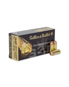 Sellier & Bellot 9mm 115 Gr JHP (Box)