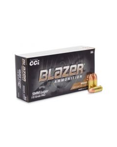 Blazer Brass 9mm 115 Grain FMJ (Box)
