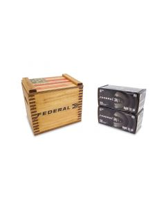 """Federal American Eagle Black Pack 40 S&W 165 Gr FMJ in """"We the People"""" Crate - 400 Rounds"""