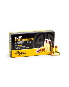 Sig Sauer Elite Performance 10mm 180 Grain FMJ Case E10MB1-50-CASE