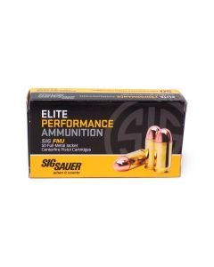 Sig Sauer Elite Performance .380 ACP 100 Grain FMJ