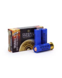 "Federal LE 12 GA Ammo 2-3/4"" Tactical TruBall Deep Penetrator Rifled Slug Case LEB127DPRS-CASE"