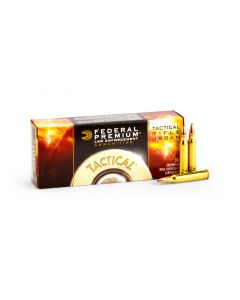 Federal LE Tactical TRU .223 55 Grain Sierra Gameking BTHP Case T223E-CASE