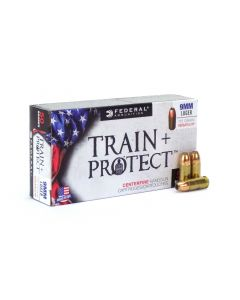 Federal Train + Protect 9mm 115gr Versatile HP