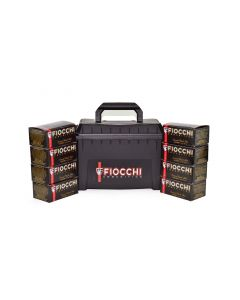 "Fiocchi Low Recoil 12 Ga 9 pellet 00 Buckshot 2-3/4"" Nickel Plated Shotgun Ammo - 80 Rounds in Plano Box"