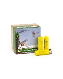 "Remington Gun Club Target Loads 20 Ga 2-3/4"" 7/8 Oz 8 Lead Shot Case GC208-CASE"